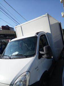Camion de 24mc cu lift de 800kg